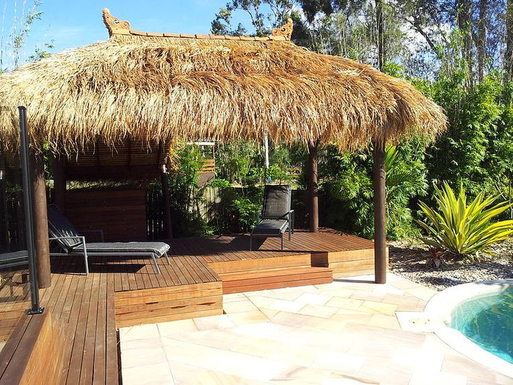 Turn the backyard of your dwelling place into a tropical oasis with premier tropical lifestyle bali huts! We – Brisbane Thatch & Decks – are one of the leading tropical lifestyle bali huts' suppliers. From quality to durability, the bali huts that we provide stand high on each aspect. Our services are rated friendly and reliable.