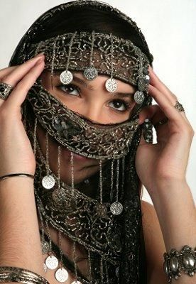 Face Veil - Gypsy Costume Pictures [Slideshow]