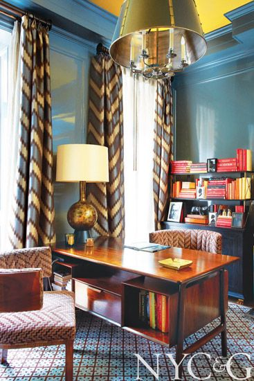 Designer Steven Gambrel Returns a Greenwich Village Row House to Its Historic Roots - New York Cottages & Gardens - April 2014 - New York, N...