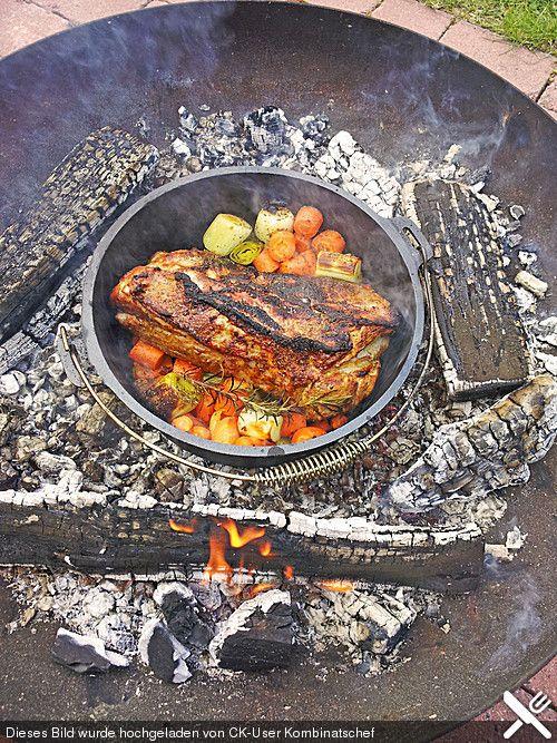 Dutch Oven Schweineschulter (Rezept mit Bild) von Kombinatschef   Chefkoch.de