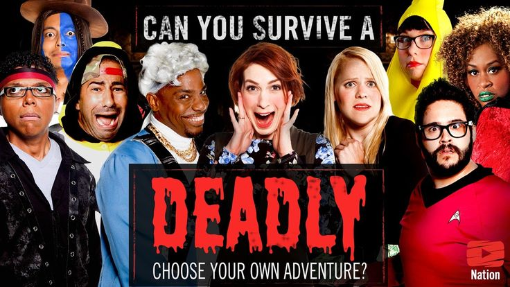 'Can You Survive?', A Halloween Choose-Your-Own-Adventure Video With Felicia Day, Tay Zonday, and Other YouTube Stars