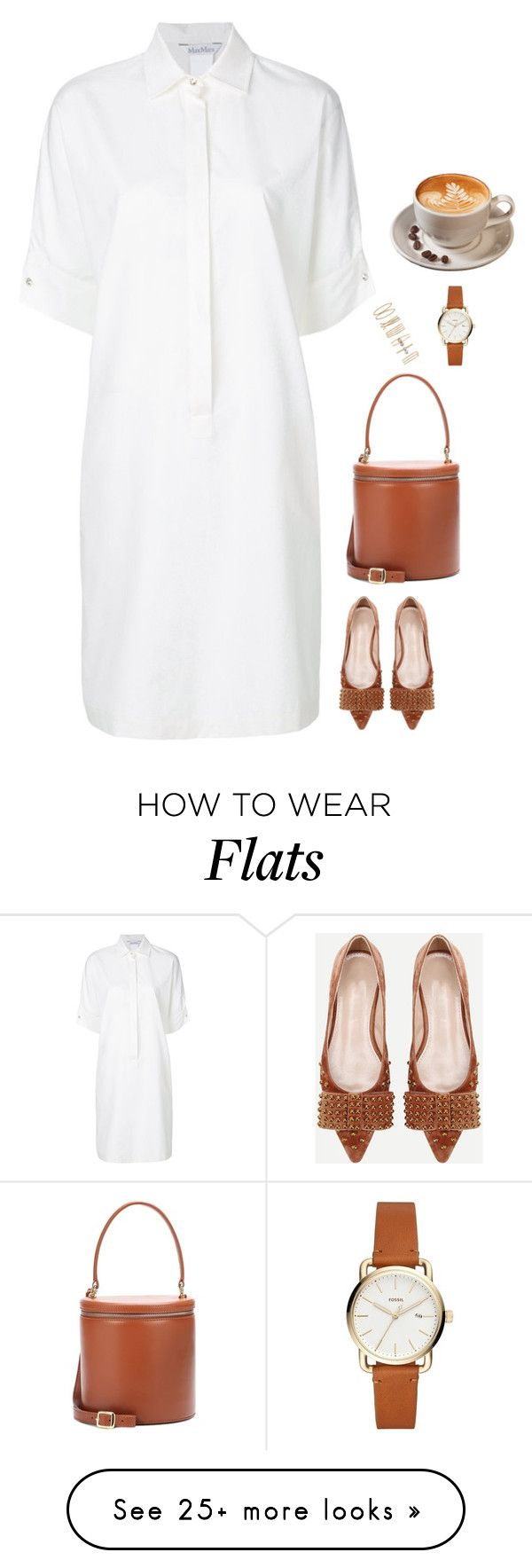 """#7271"" by azaliyan on Polyvore featuring MaxMara, Staud and Forever 21"