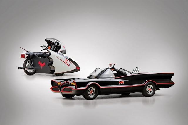 1966 Batmobile Replica And Original 1966 Yamaha Batcycle Listed For Sale Together / #batman
