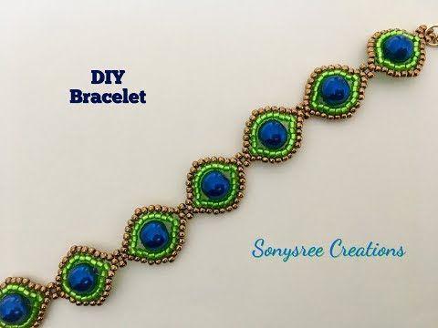 Beautiful bracelet ...Simple & Elegant DIY - YouTube