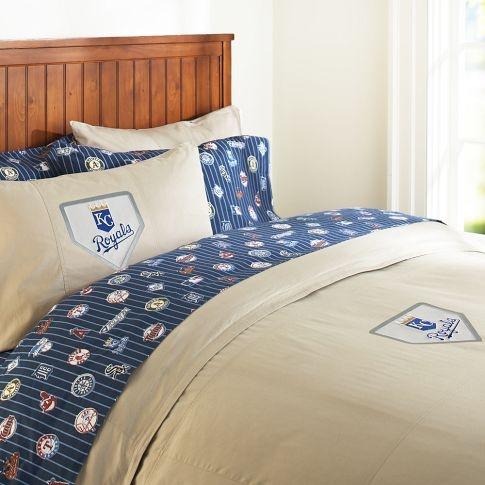 Kansas City Royals Duvet Cover Pillowcase