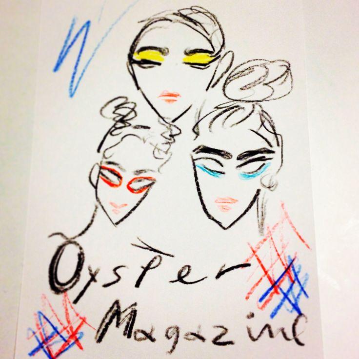 #oystermagazine #fashion #illustration