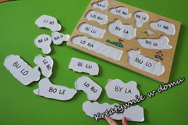 Drugie życie zabawek - nauka czytania przez zabawę   Kreatywnie w domu