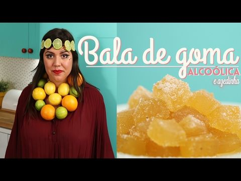 BALA DE GOMA DA EMBRIAGADA - YouTube