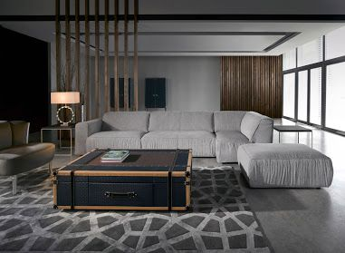 Coleccion Alexandra UK sleepy large living room. How to fill a large room and make it cozy.
