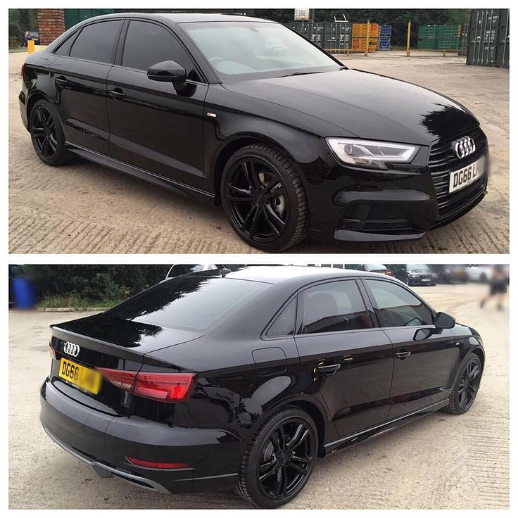 #mulpix brand new  #Audi  #A3  #Sline with all black makeover about to be delivered to its lucky new owner , a few small changes have transformed the look of this car and now it's 👌🏼 #optimacars