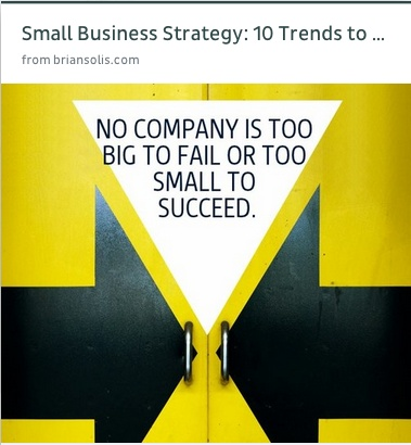 small #business #strategy from @Brian Solis