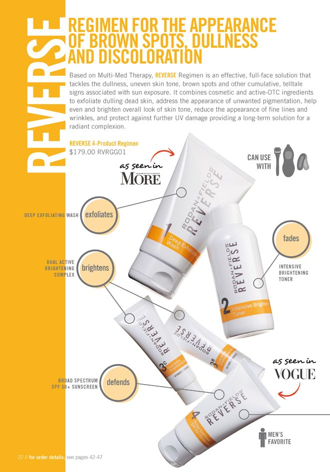 Rodan and Fields Reverse the brown spots http://somerriney.myrandf.com