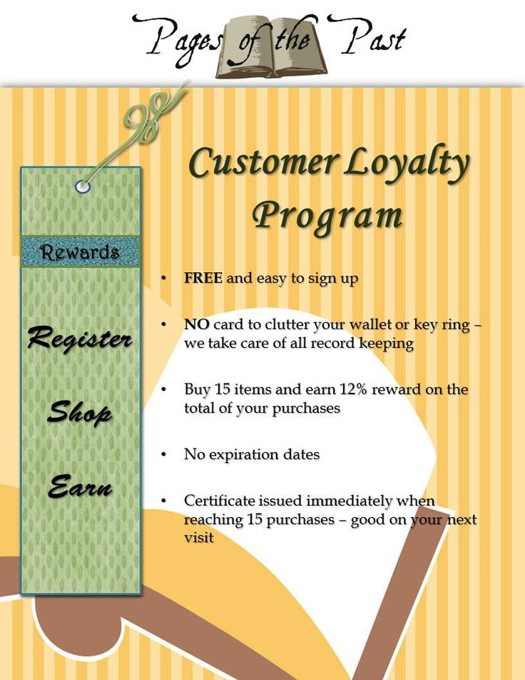 "11 thoughts on ""Infographic: The Evolution of Loyalty Programs"""