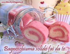 Bagnoschiuma solido fai da te (spumante da bagno) a forma di marshmallow. Ricetta passo a passo!