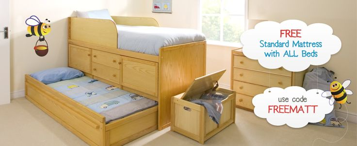 Free Mattress with Every Kids Bed from Childrens Bed Centres / Childrens Bed Centres News | Childrens Bed Centres