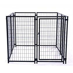 Aleko 4 Foot High Heavy Duty Dog Kennel Review - Pampered Pooch