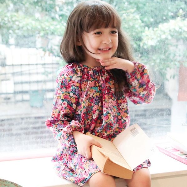TRONA ONE-PIECE #CandyRainbow #kidsboutique #childrenclothing #dresses