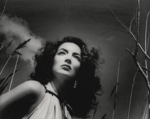 1950s Mexican actress, Maria Felix.