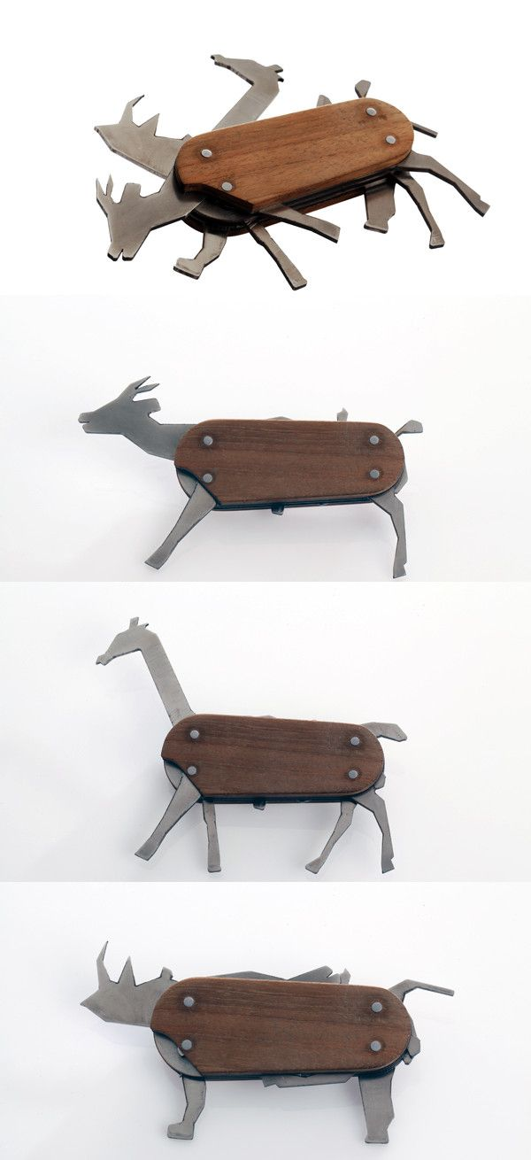 Animal Pocket Knife...because adults still wanna play with toys sometimes too! (And no one would ever know hehehe) ;)