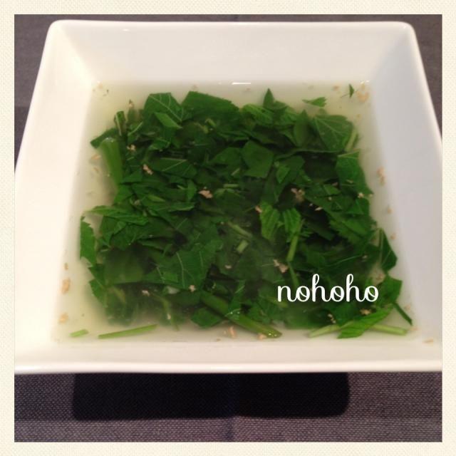 レシピとお料理がひらめくSnapDish - 35件のもぐもぐ - 風邪対策!ネギジンジャーモロヘイヤトロトロスープ by nohoho