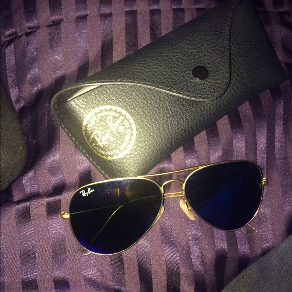 ray ban aviator glasses! aviator glasses only worn once Ray-Ban Accessories Glasses