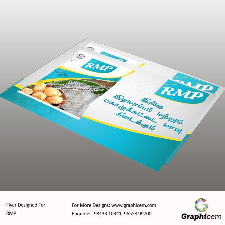 Flyer Designed For RMP