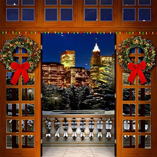 Photography Backdrop - Holiday Balcony - 10x10 Ft. - 100% Seamless Polyester - http://www.specialdaysgift.com/photography-backdrop-holiday-balcony-10x10-ft-100-seamless-polyester/