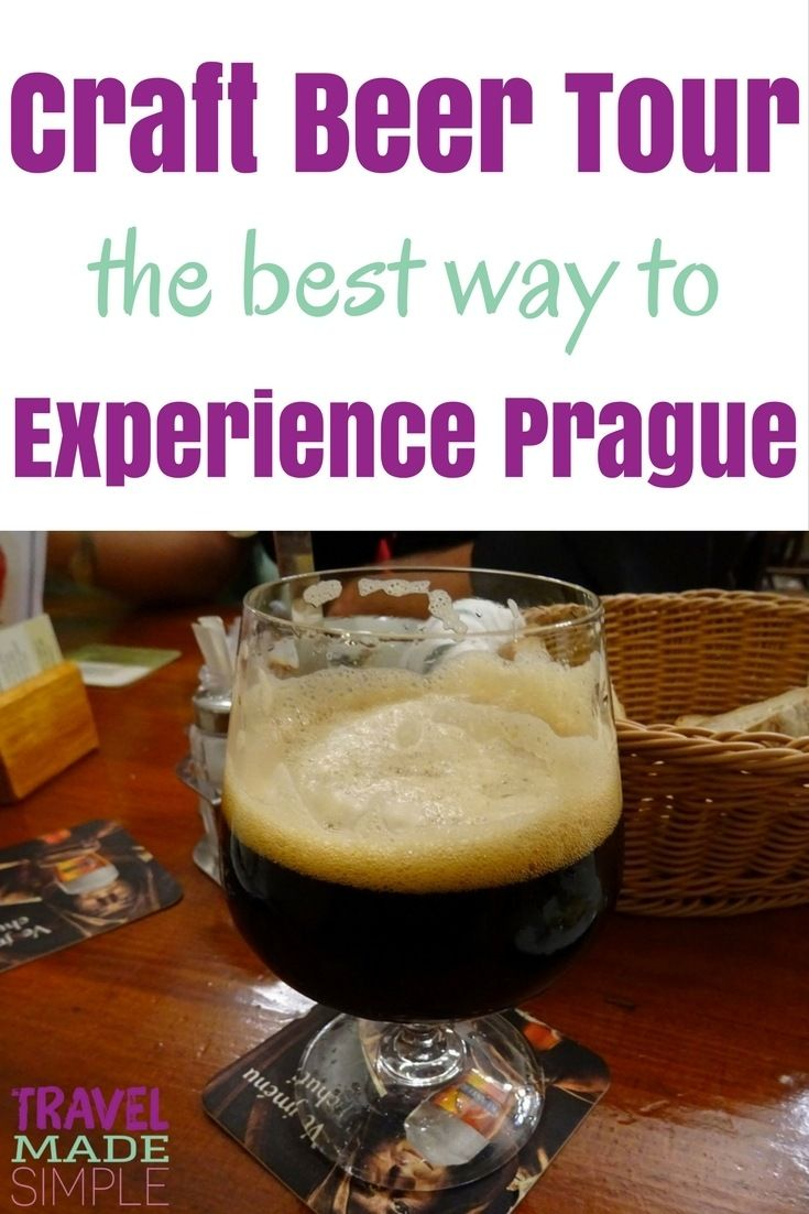 During a recent trip to Prague, we decided to book a few tours through Viator. The Prague craft beer tour was so much fun and one of the best things we did.