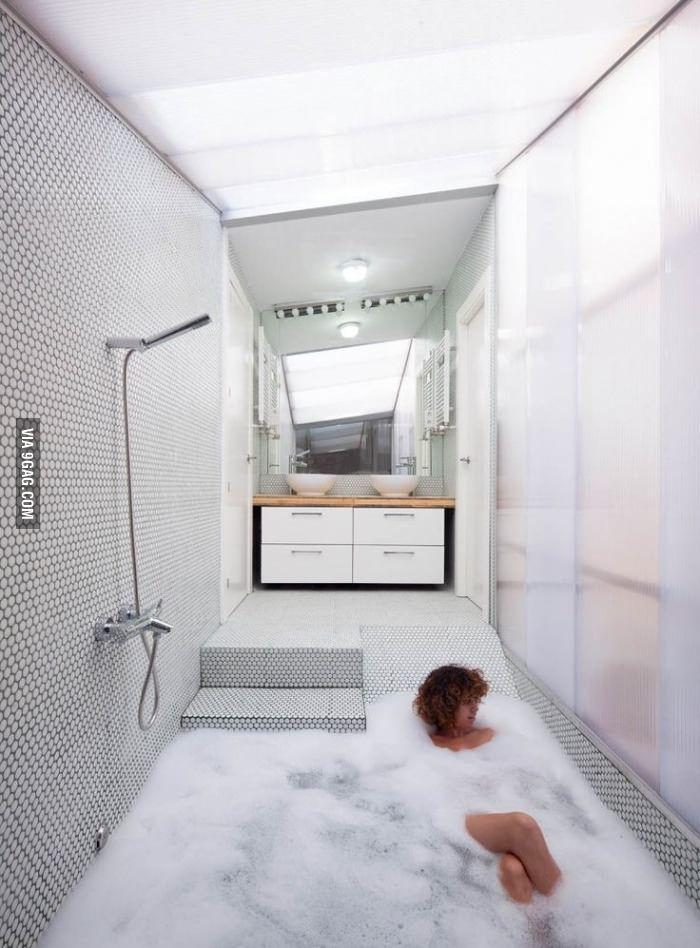 Neat idea for a shower / bath.