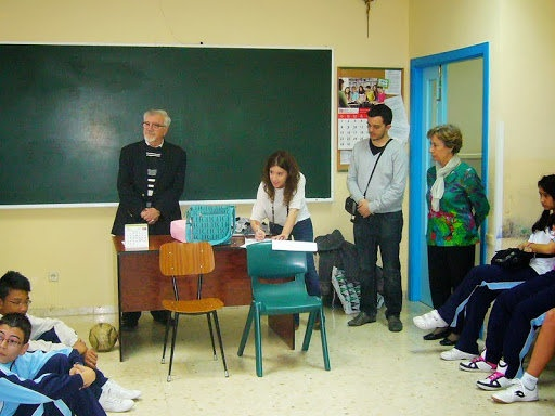 """#educaycine Wix del proyecto del Colegio María Inmaculada sobre """"Arrugas"""""""