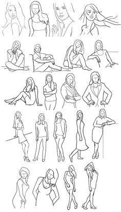 FOTOGRAFIE :: Posing Guide: 21 Beispiel-Posen für den Einstieg in