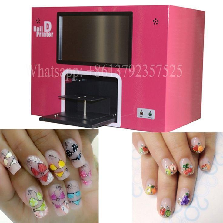 Free Delivery Nail Printer Diy Nail Art Printing Machine Digital