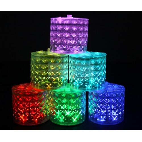 Remote Control Color-Changing Inflatable Solar Lantern (Diamond Effect)