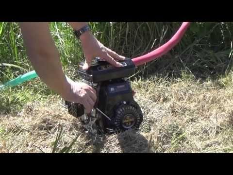 4-Takt Benzin Wasserpumpe 1,5 PS - Lager-Verkauf 129,-€