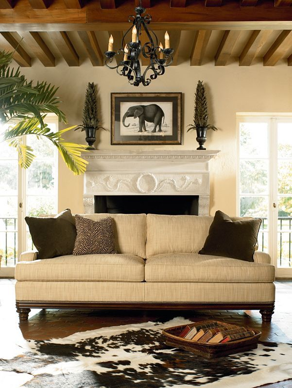 Hadley Sofa   Thomasville Furniture   Ernest Hemingway Collection