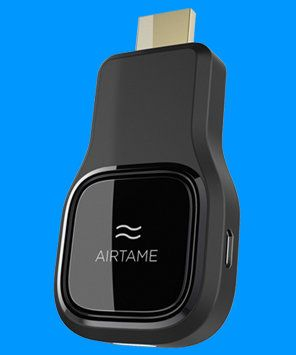 AirTame lets you get your mobile device onto the big screen #airtame #streaming #streamingcontent #usbpower #streamingvideo #wifi #crowdfunding #backerjack
