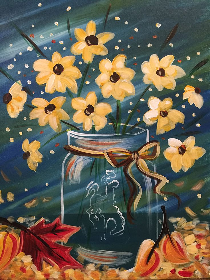 Best 25+ Canvas painting patterns ideas on Pinterest ... Easy Acrylic Flower Paintings On Canvas