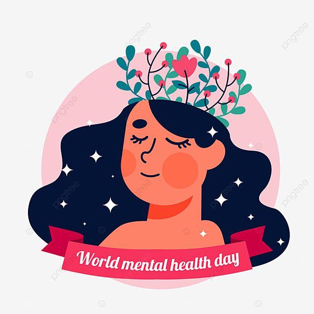 Pin On Desenhado A Mao Dia Mundial Da Saude Mental