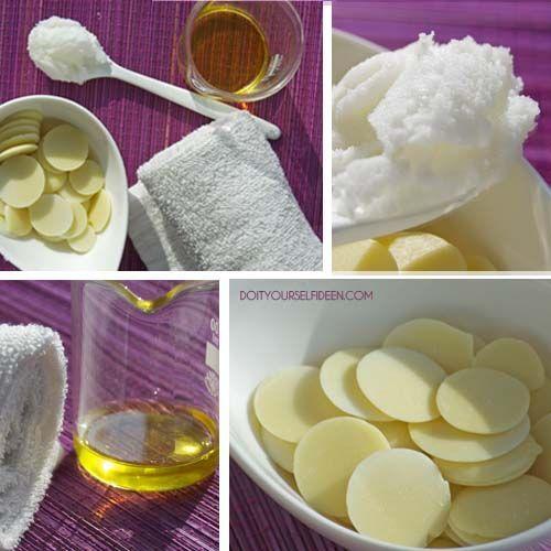 DIY Handcreme aus Kakao- und Sheabutter sowie Jojoba- und Mandelöl für Samtpfoten.