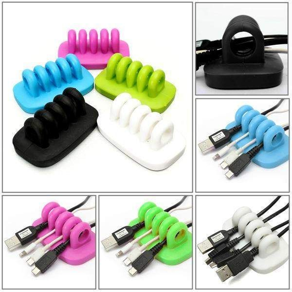Universal Cable Grip Wire Manager - WIRE Center •