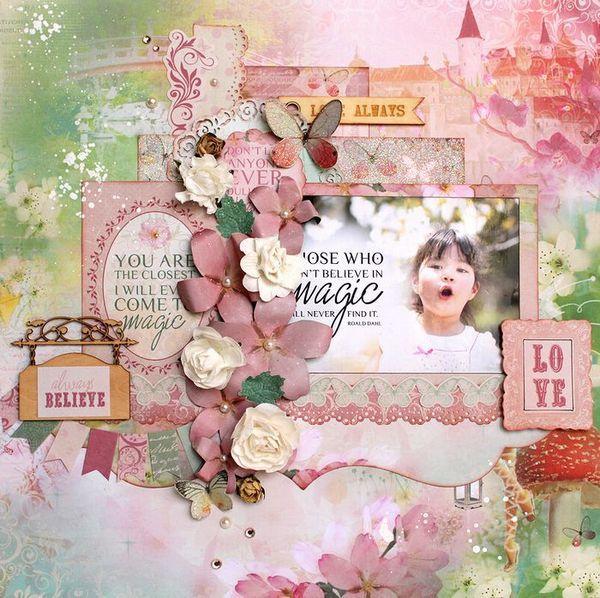 KaiserCraft - Enchanted Garden - Kaori Fujimoto