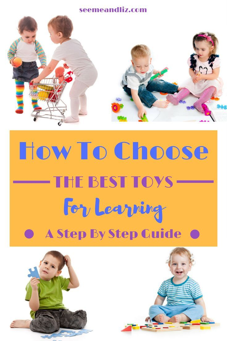 Find out how to choose the best learning toys for babies, toddlers and preschoolers. Click to get your complete guide! | #besttoysforkids | #learningthroughplay