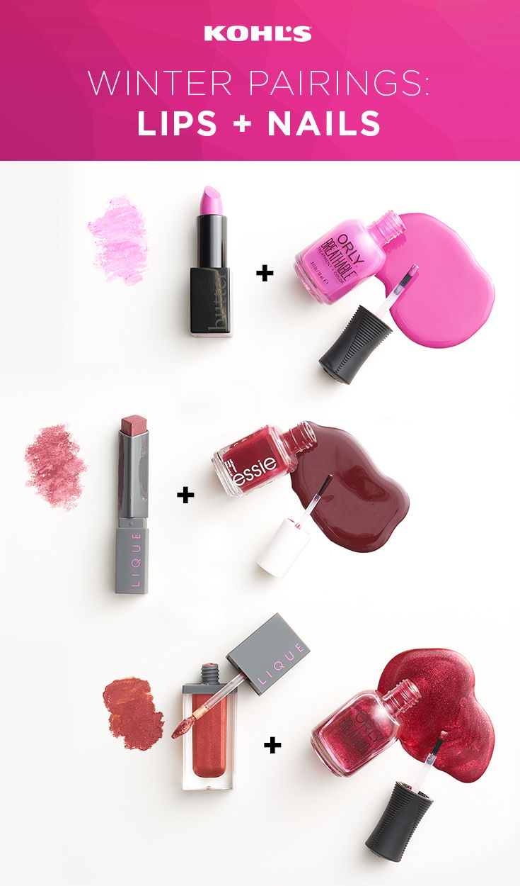 Pairing your lipstick and nail polish isn\'t about exact matching ...