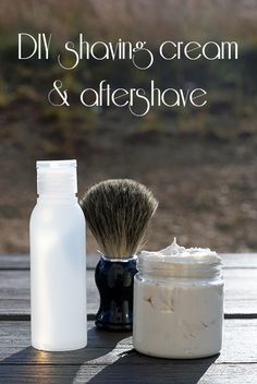 DIY shaving cream & aftershave {101 Days of Christmas}