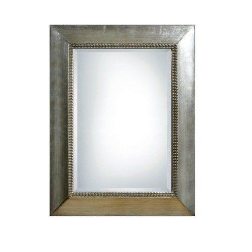 Uttermost - Fresno Scratched Silver Framed Mirror - 11572 B