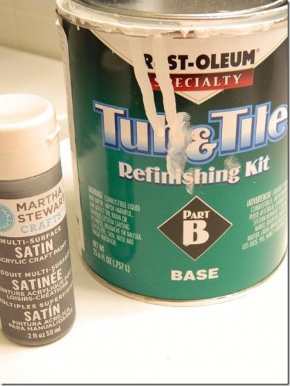 Paint For Bathroom Tile Say Good Bye To That Pinkish Tan Tile