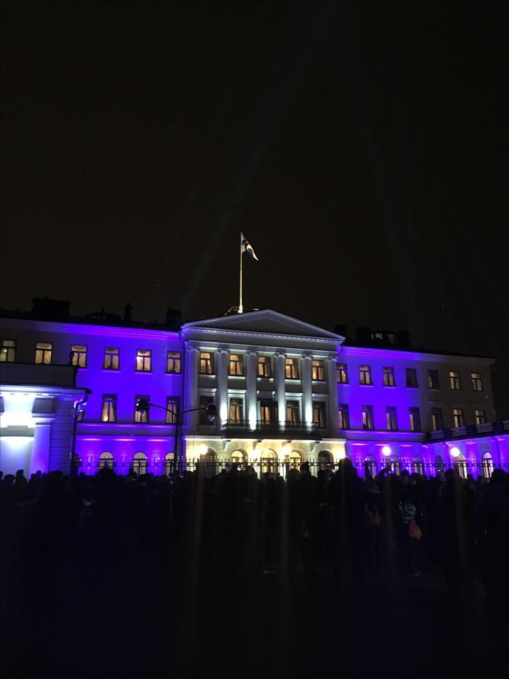 Suomi 100! Presidentin linna 5.12.2017 !