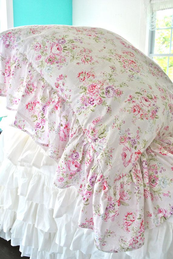 Ruffle pillow, Shabby chic and Shabby on Pinterest