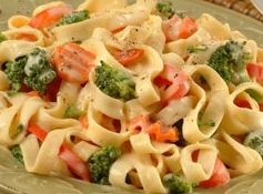 FETTUCCINE PRIMAVERA Recipe | Just A Pinch Recipes