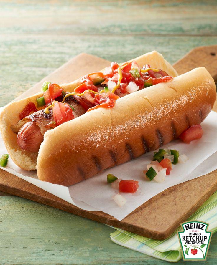 Hot dogs enrobés de bacon #recette